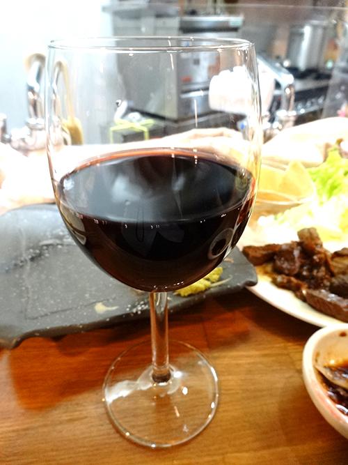60グラス赤ワイン380