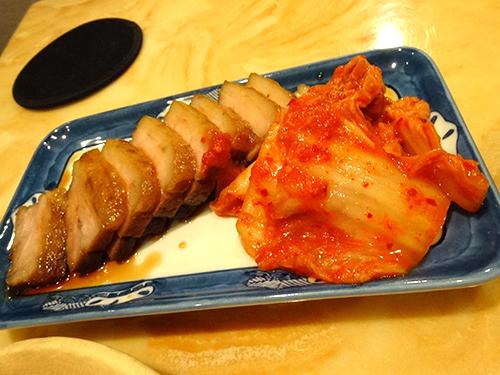 04煮豚とキムチ