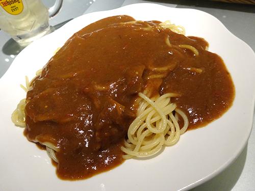 45カレースパゲティ
