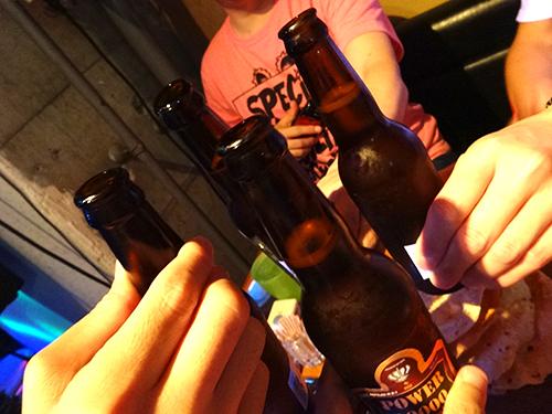 03乾杯!!