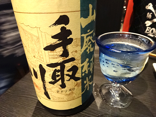 23手取川山廃純米