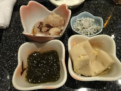 03牛すじしらすもずく高野豆腐