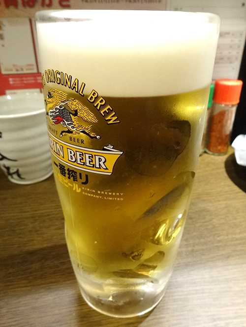13串盛り生ビール