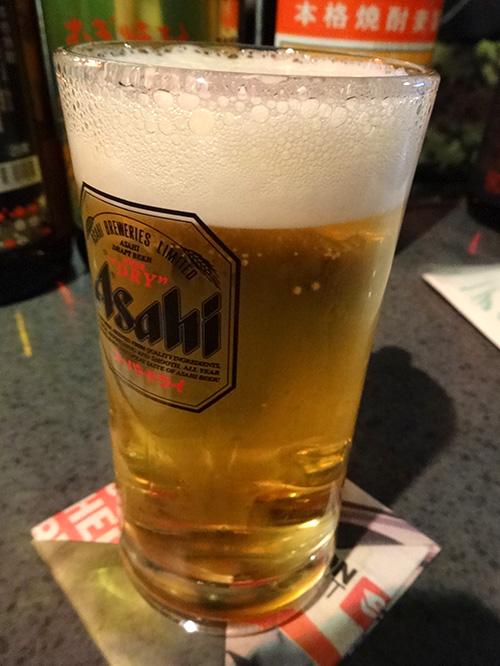 13生ビール500