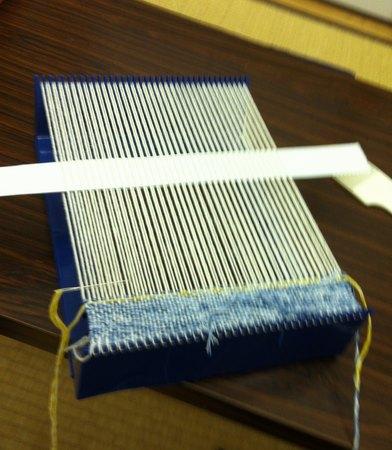 子供の手織り機