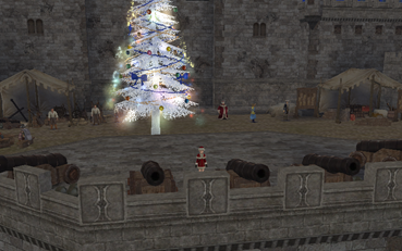 こんなところにもクリスマス