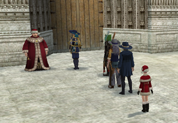 サンタさんは大人気