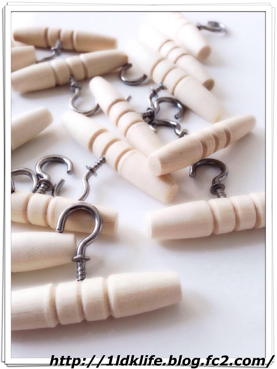 リカちゃん人形用手作りハンガー