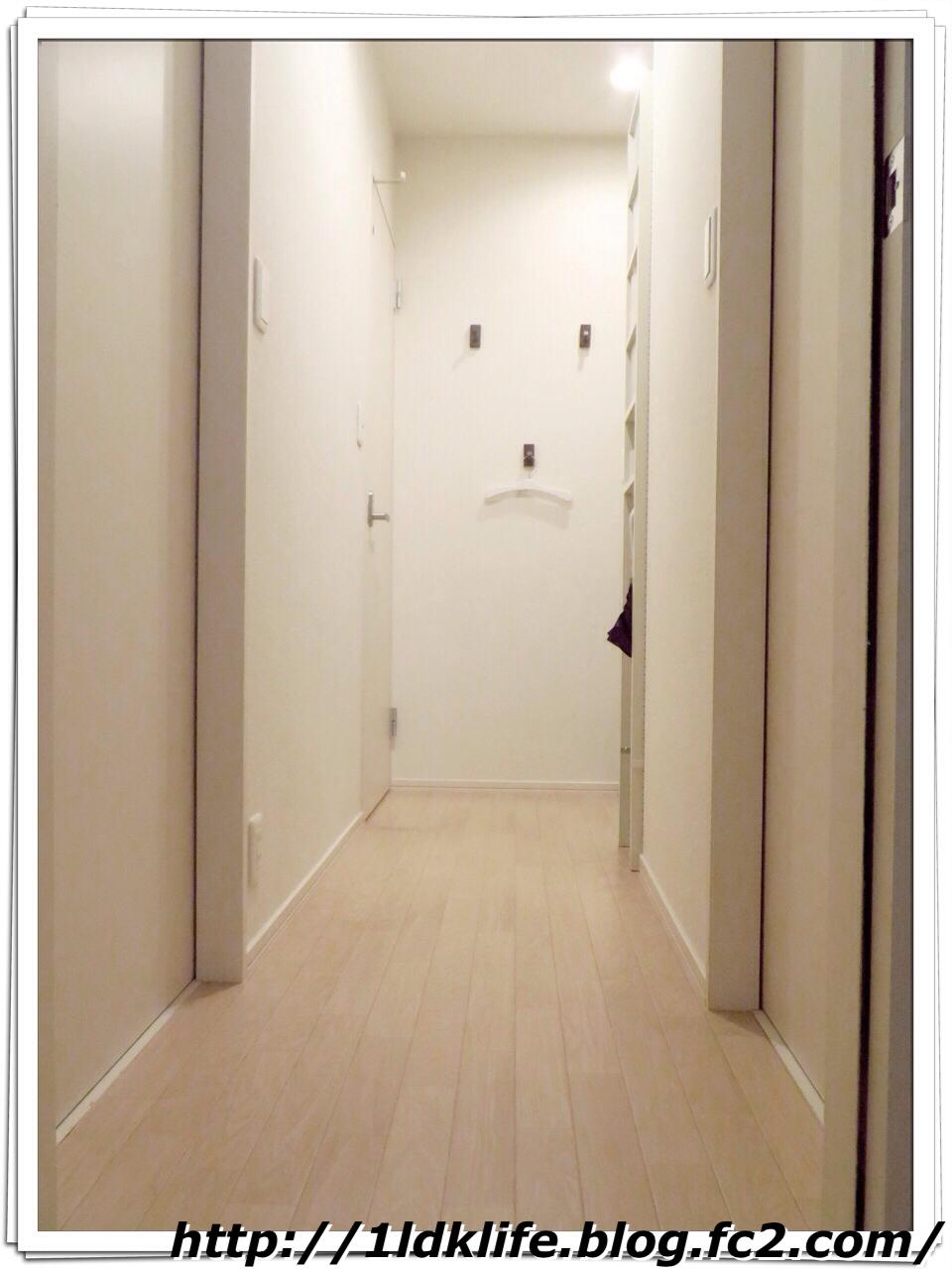 我が家の廊下(after)