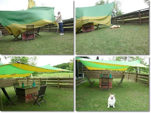 テント張り 3