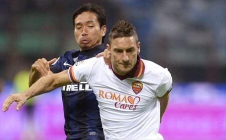 【トッティ無双】インテル、ローマに完敗 ローマはクラブ記録の開幕7連勝