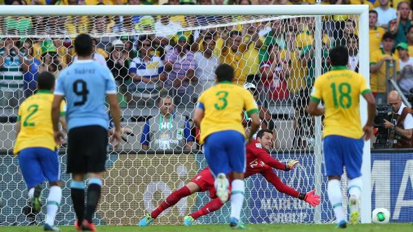 【コンフェデ準決】ブラジル×ウルグアイ 南米対決の結果!