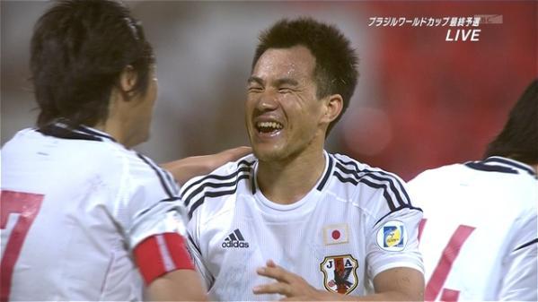 【日本代表】岡崎がゴール!勝利でコンフェデへ