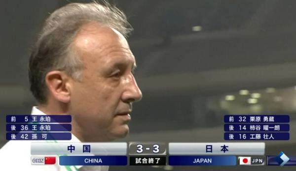 ザックジャパン、中国に3-3で引き分ける【東アジア杯】