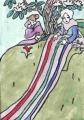 3得度の日桜咲く国紅桃の巻明治45年