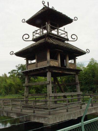 唐古・鍵遺跡の望楼