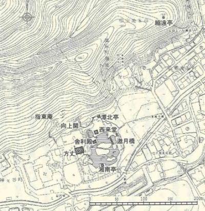 西芳寺創建時想像図