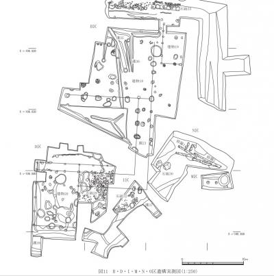 金閣寺発掘現場D・B区