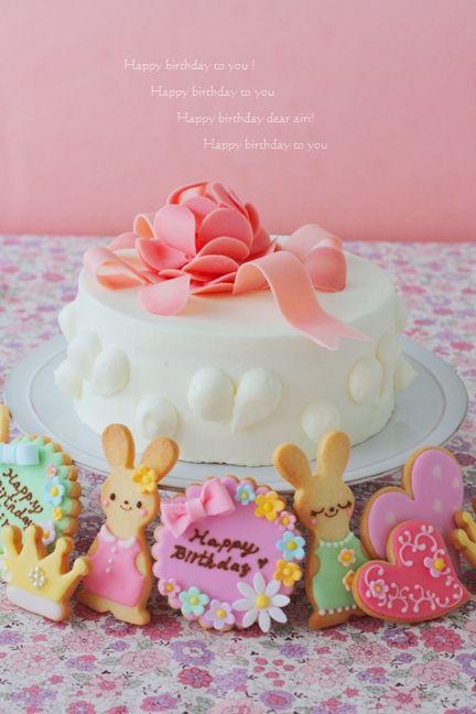 1010愛莉誕生日ケーキ