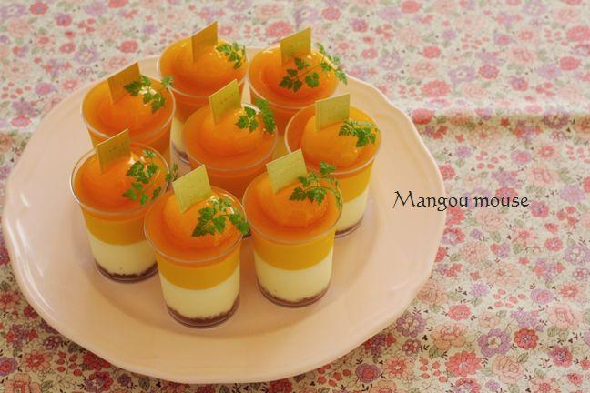 1030マスカルポーネとマンゴーのムース3