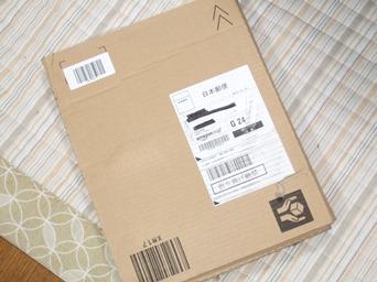 10/14 Amazonからの小包