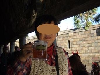 10/29 バタービールを飲む
