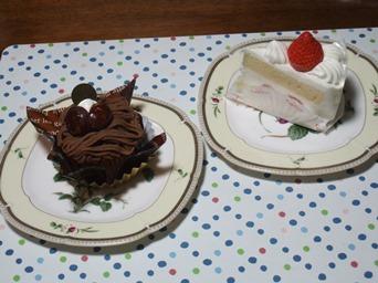 11/9 誕生日祝いのケーキ