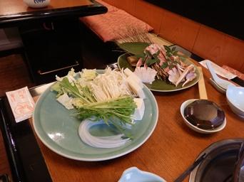 11/9 誕生日祝い 蟹すき 具材  甲羅本店