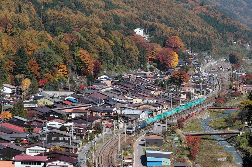奈良井宿の秋はいいね!木枯らし紋次郎になった気分だぜ!