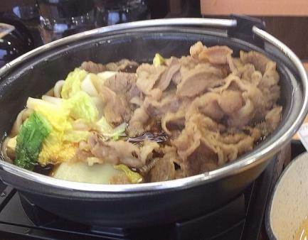 2013-12-01牛すき鍋膳