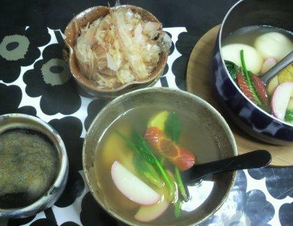 1-8朝お雑煮