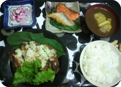 2-4ロールキャベツ鶏肉惣菜