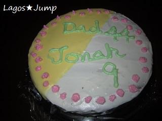 45&9ケーキ