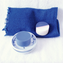 藍のお風呂セット