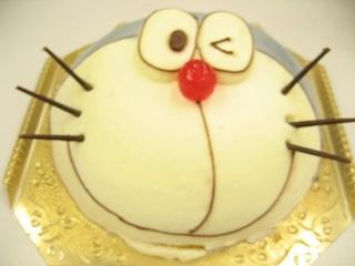 ドラえもんのケーキ