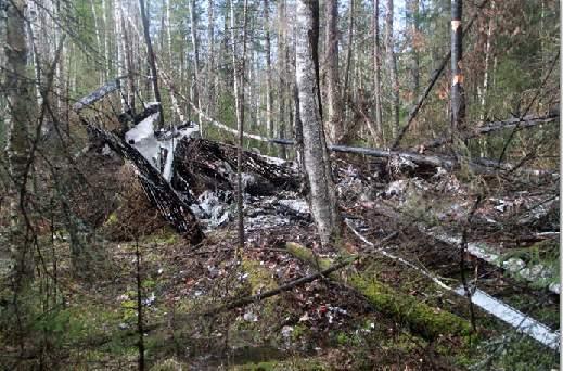 ロシア墜落機2
