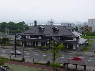 6旧室蘭駅舎1