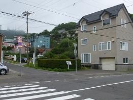 8日本一の坂向かい