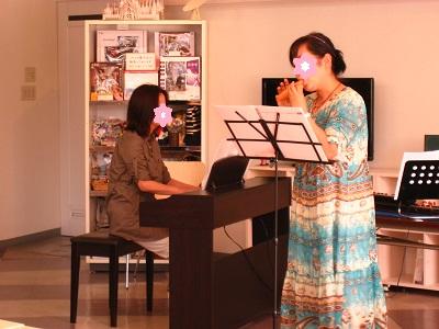 オカリナ&ピアノ