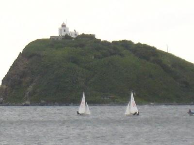 02大黒島とヨット