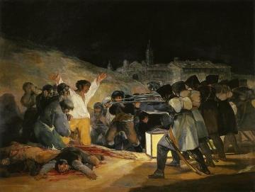 ゴヤ、1808年5月3日