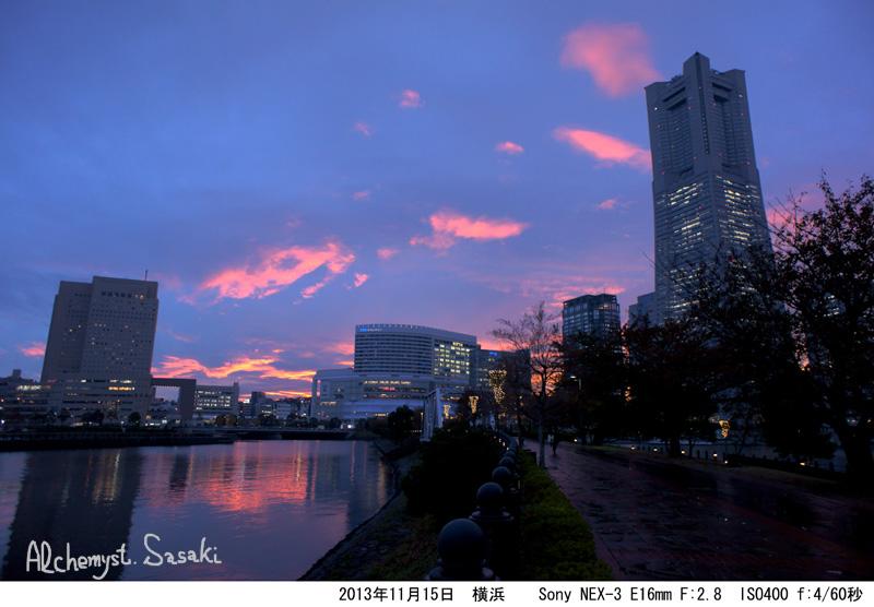 横浜の夜景DSC02795