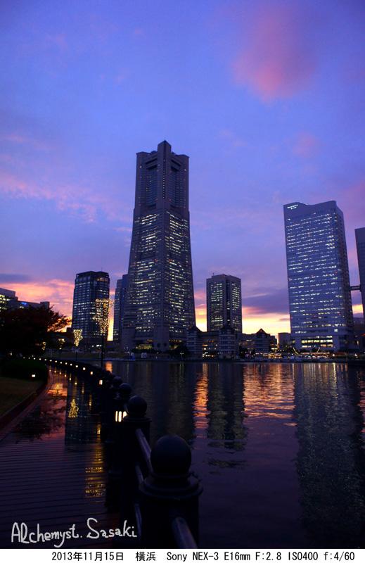 横浜の夜景DSC02811