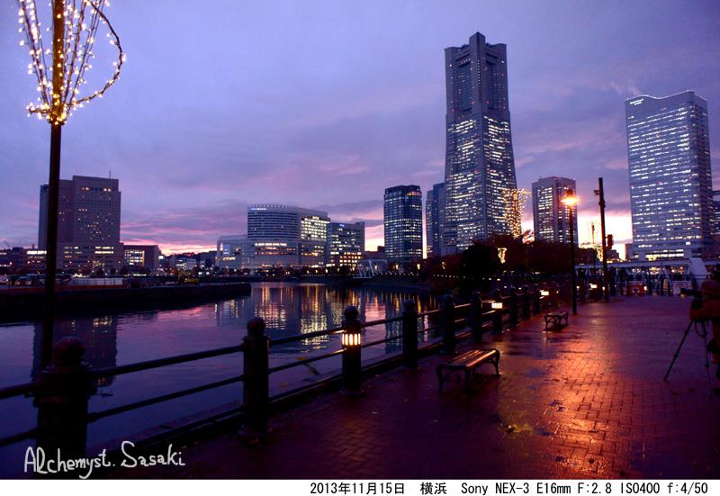 横浜の夜景DSC02818