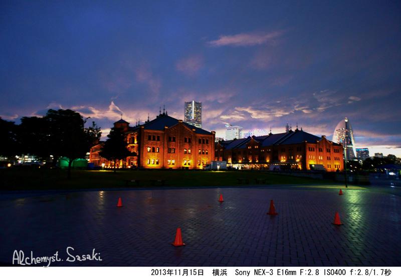 横浜の夜景DSC02820