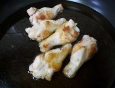 鶏手羽 調理②