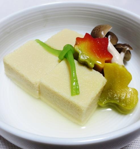 花麩と高野豆腐の炊いたん 大