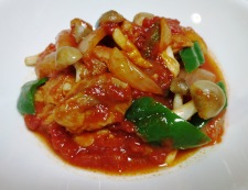 チキンのトマト生姜煮 調理⑥