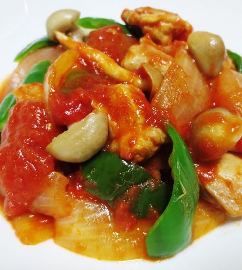 チキンのトマト生姜煮 大
