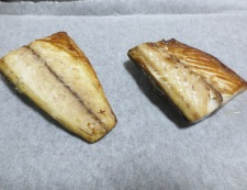塩サバのおろし焼き 調理④